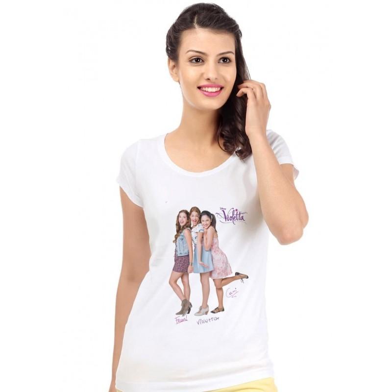 Tričko Violetta biele