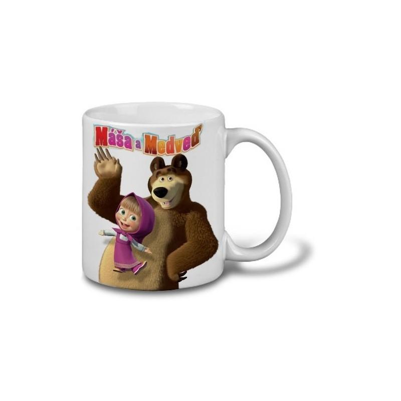 Hrnček Máša a medveď