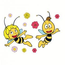 Samolepky Včielka Maja
