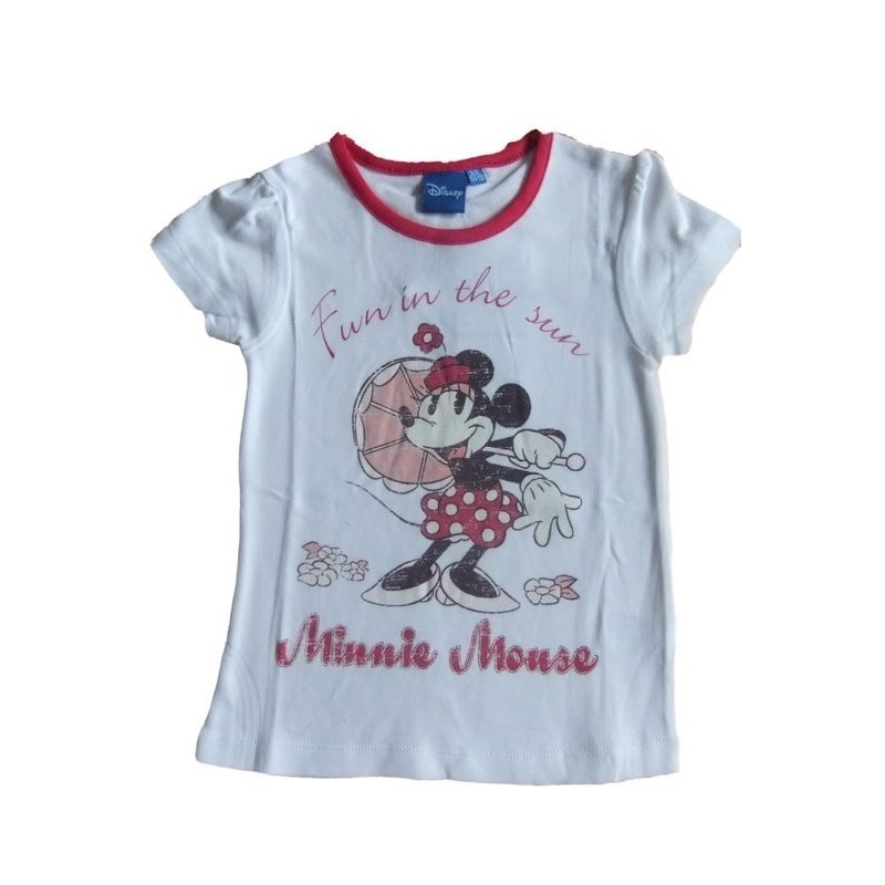 Tričko Minnie-ružová