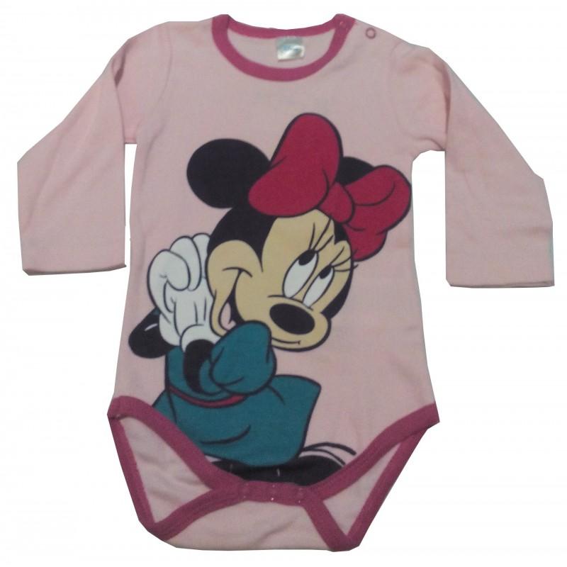 Body Minnie-ružová