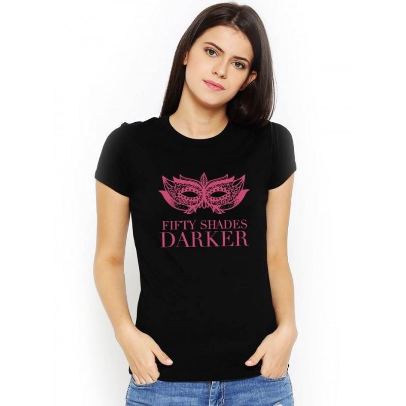 Tričko čierne 50 odtieňov temnoty