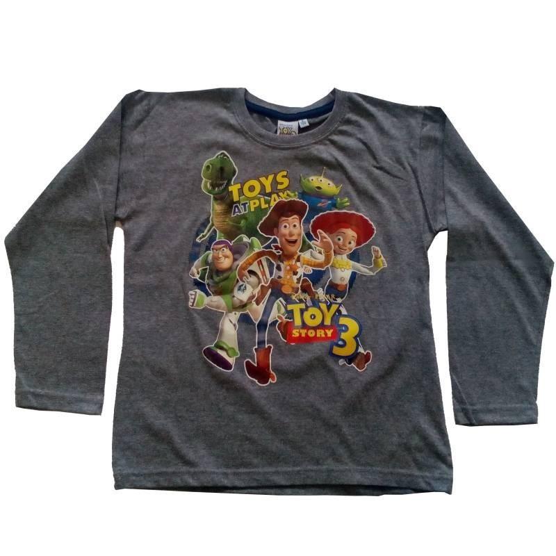 Tričko Toy Story sivá