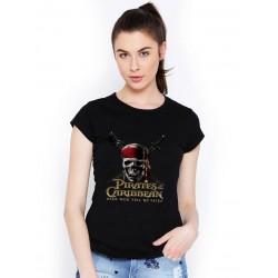 Tričko Piráti karibiku dáske čierne