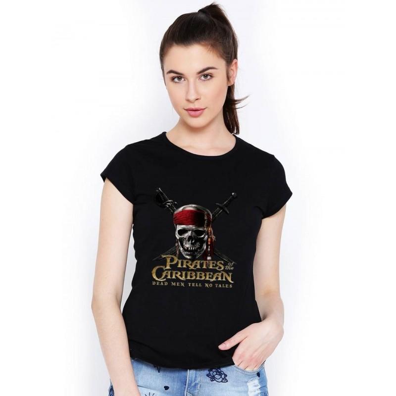 a14b33005702 Tričko Piráti karibiku dámske čierne