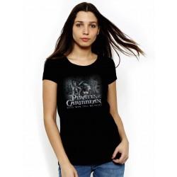 Tričko Piráti karibiku dámske čierne