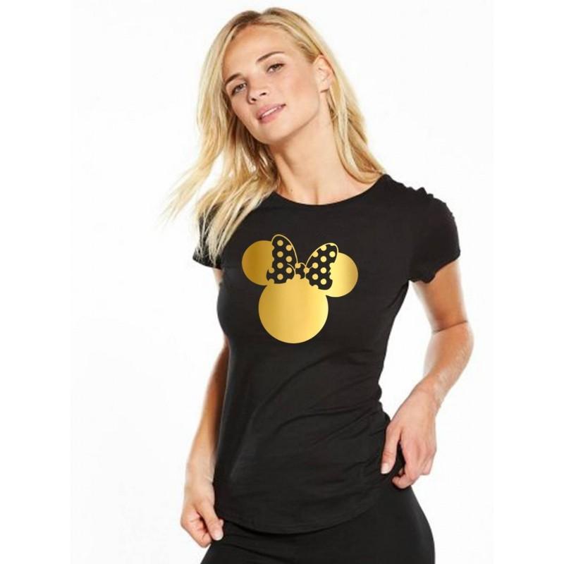 d25be5dde067 Tričko Minnie Dámske čierne