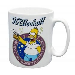 Hrnček Homer Simpson To Alcohol