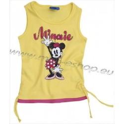 Tielko Minnie-žltá
