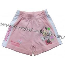 Kraťasy Minnie-sv.ružová