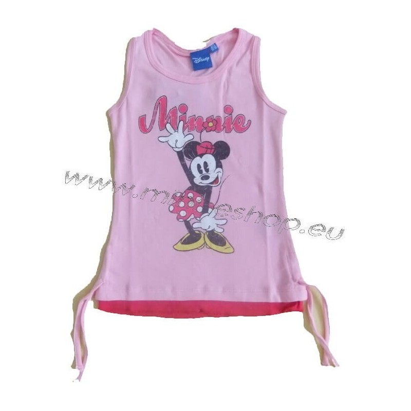 Tielko Minnie-ružová