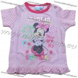 Tričko Minnie-sv.ružová