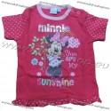 Tričko Minnie-tm.ružová