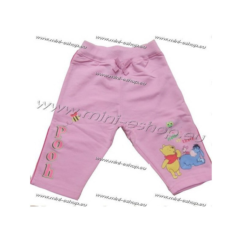 Tepláky Macko Pooh-sv.ružová