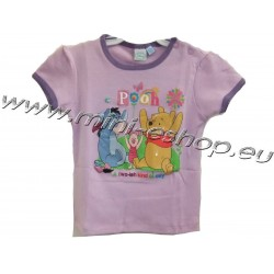 Tričko Macko Pooh-fialová
