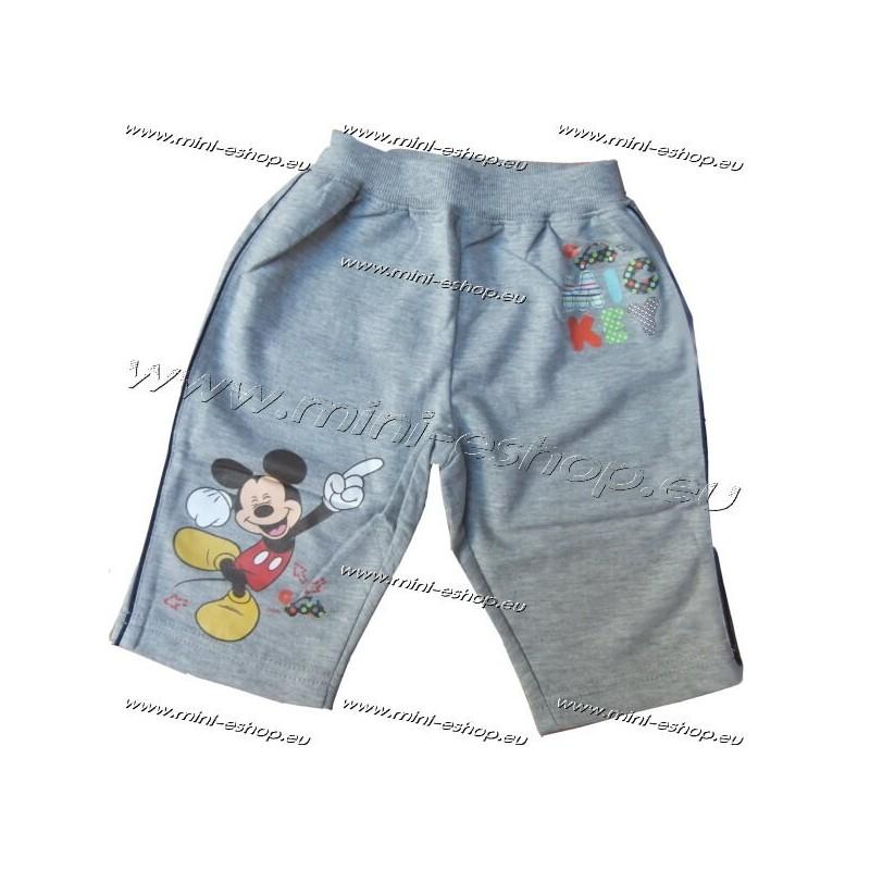 Tepláky Mickey-sivá