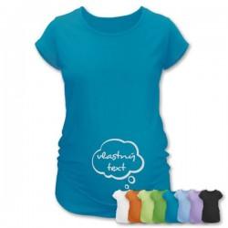Tehotenské tričko s vlastnou potlačou