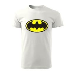Tričko Batman biele