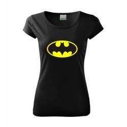 Dámske tričko Batman čierne