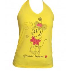 Tričko Minnie Dámske-žltá