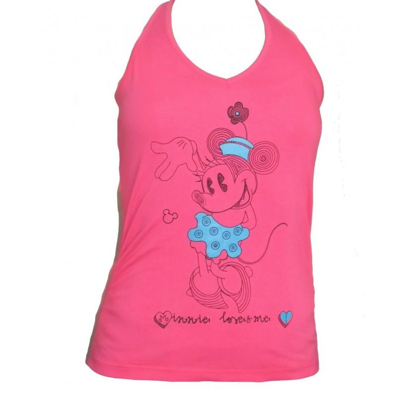 Tričko Minnie Dámske-ružová