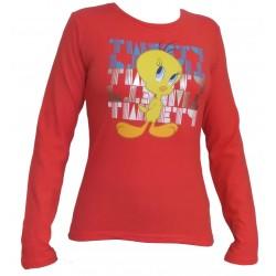 Dámske tričko TWEETY červená