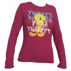 Dámske tričko TWEETY fialová