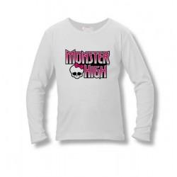 Tričko Monster High - biele