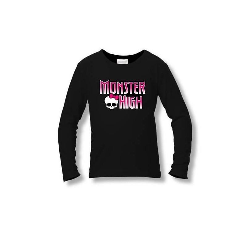 Tričko Monster High - čierne