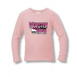 Tričko Monster High - ružové