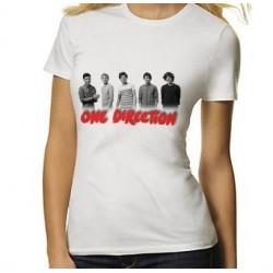 Dámske tričko One Direction biele