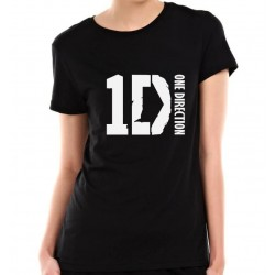 Dámske tričko One Direction čierne