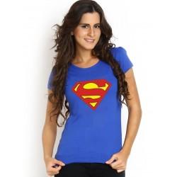 Dámske tričko Superman modré