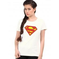 Dámske tričko Superman biele