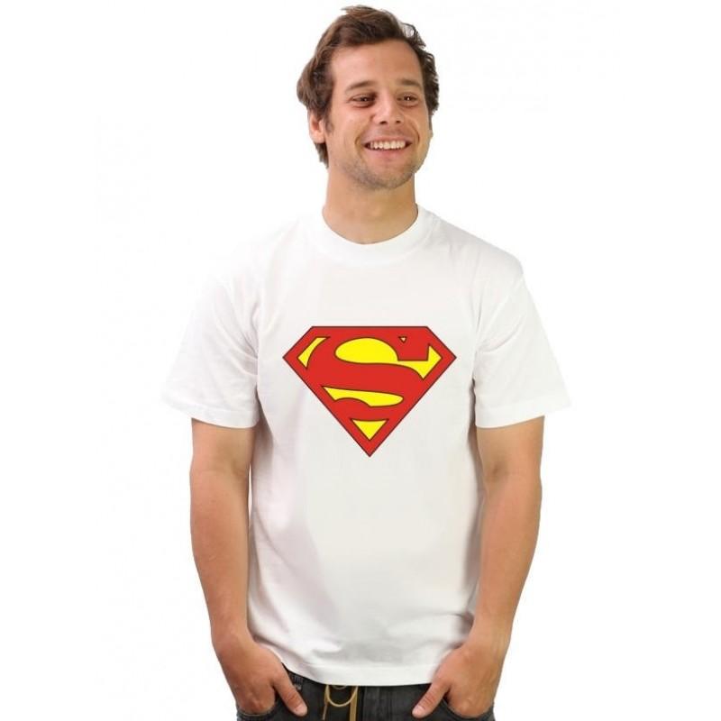 Tričko Superman biele