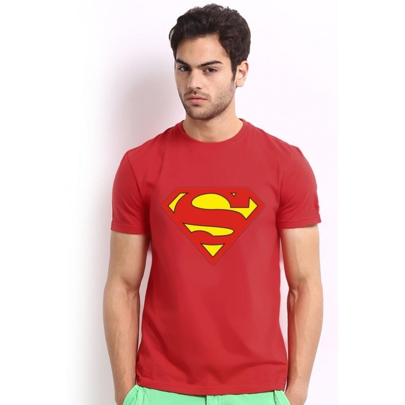 Tričko Superman červené