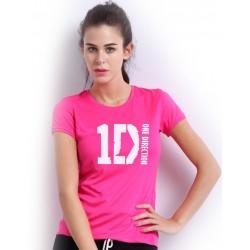 Dámske tričko One Direction ružové